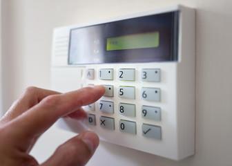 Burglar Alarm Keypad Install