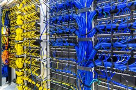 Server Room Cabling Color Coded e1599458901769